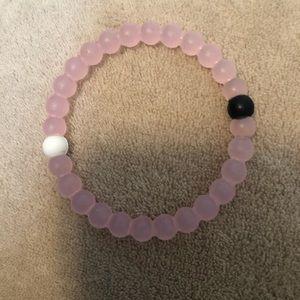 Pink balance bracelet